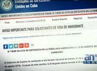 ¡atencion!, cambio de fechas para citas en embajada de guyana