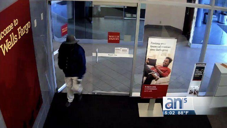 El FBI busca a ladrón de bancos en Miami