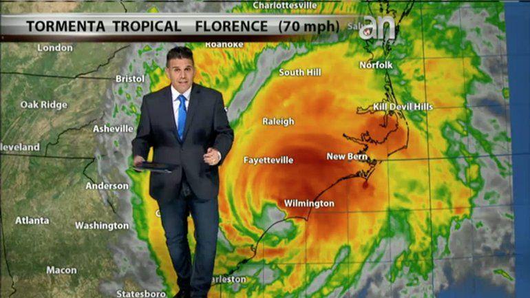 Inundaciones, destrucción y 4 muertos ha dejado el Huracán Florence en su paso por las Carolinas
