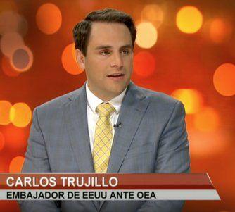 EXCLUSIVA: entrevista con el embajador de Estados Unidos ante la Organización de Estados Americanos (OEA), Carlos Trujillo