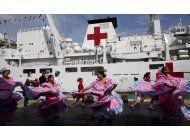 llega a venezuela buque hospital chino en medio de la crisis
