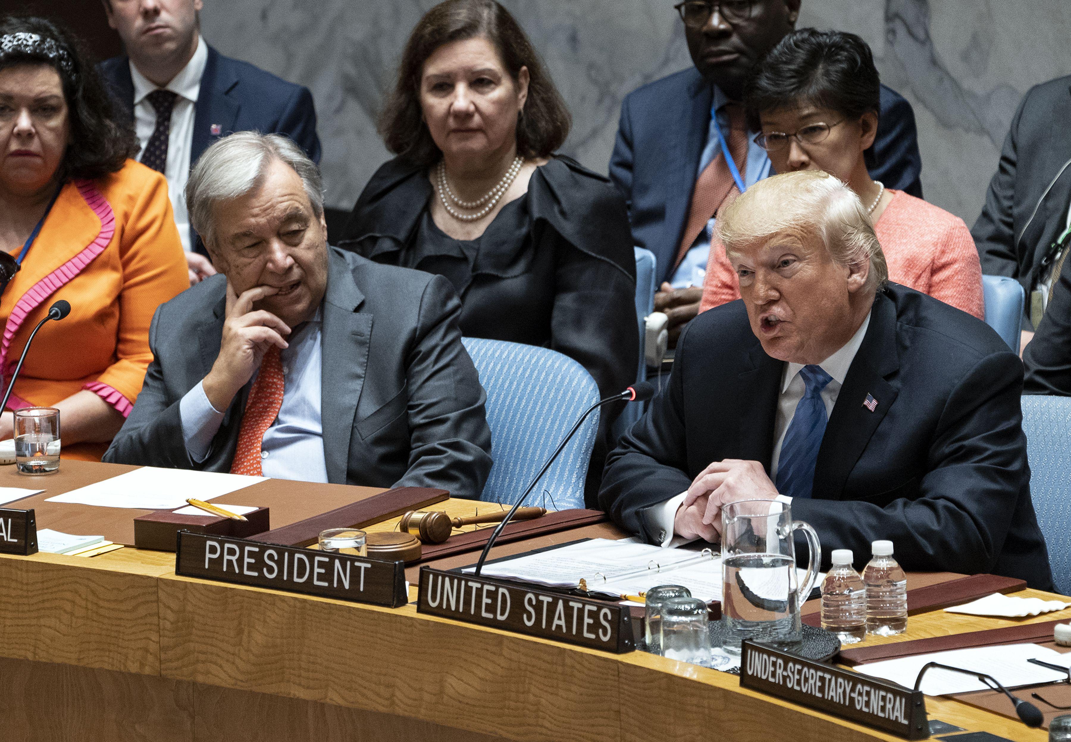 Trump defiende ante la ONU la lucha por la libertad en Cuba y Venezuela