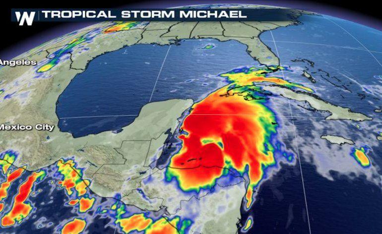 Resultado de imagen para huracan michael llega a mexico