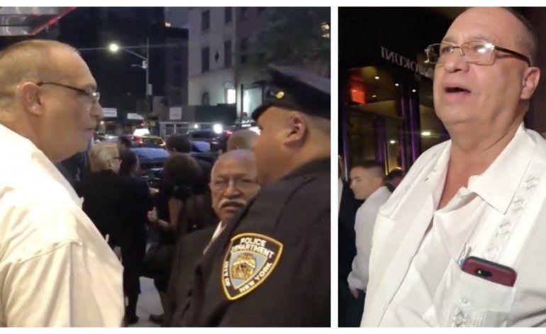 Video muestra comportamiento de agentes de seguridad cubanos con la prensa en NY