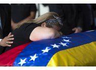 venezuela insiste en que activista encarcelado se suicido
