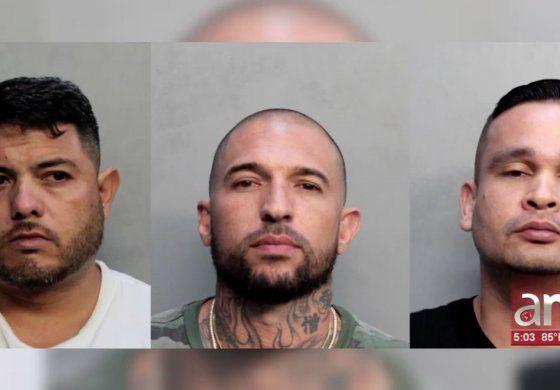 Se presentaron en corte los tres hombres detenidos tras un operativo antinarcóticos en Hialeah