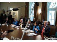 eeuu: trump pide a secretarios reducir presupuestos 5%