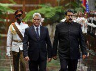 ee.uu. estudia sanciones a cuba por apoyo a venezuela