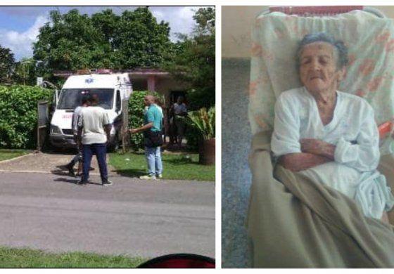 Régimen cubano desaloja a una anciana ciega de 102 años para quitarle su casa en el barrio de  Atabey