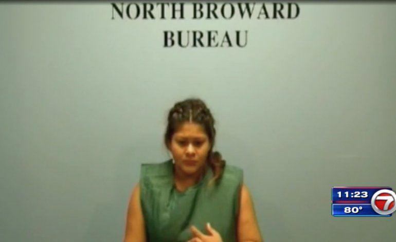 Detienen a la madre de dos niñas que murieron en un incendio en Pompano Beach