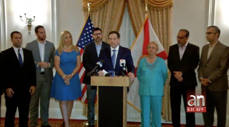 Marco Rubio apoya a candidatos Republicanos para el Estado de la Florida
