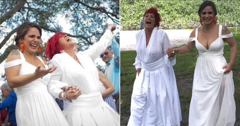 La actriz cubana Rachel Cruz se casa con la presentadora Kary Bernal