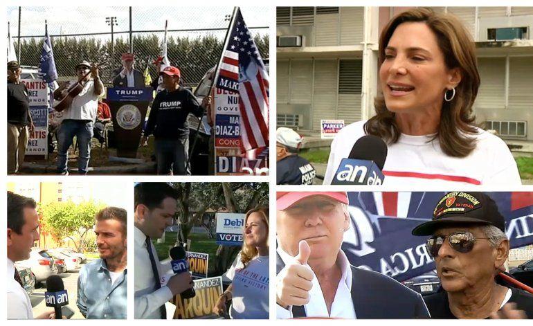 EN VIVO: Así se esta viviendo las elecciones de medio termino  en Miami