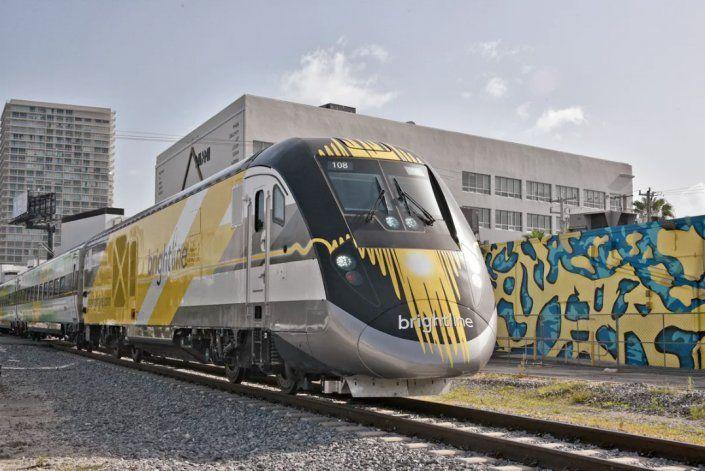 Trenes rápidos de conectarán Puerto de Miami con Orlando