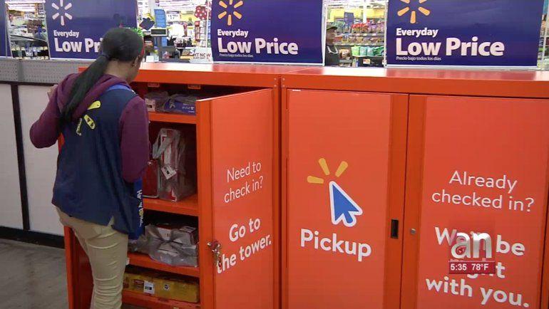 24bc68a06 Walmart elimina las colas en sus tiendas de Miami con una tecnología muy  particular