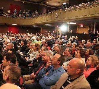 A teatro lleno se estrenó el cortometraje clandestinamente filmado dentro de Cuba Irene en La Habana