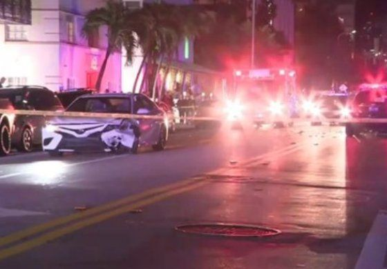 Choque en Collins Avenue creó caos en el tráfico de South Beach