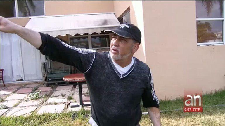 Habla en exclusiva vecino de la casa donde fue ultimado por una bala el Babalawo de origen cubano