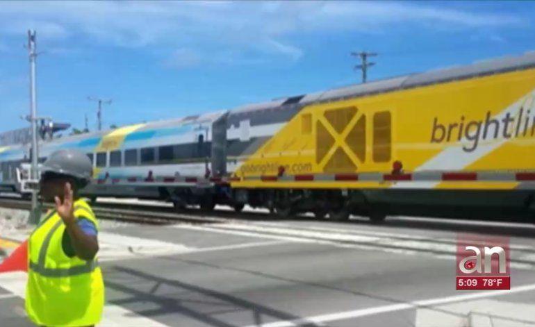 Primer atropellado en 2019 por un tren de Brightline