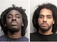 se presentan en corte  sospechosos de robo que chocaron dos veces durante una doble persecucion policial