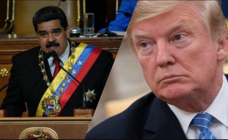 Presidente Trump descarta vinculación del gobierno con grupo insurgente en Venezuela
