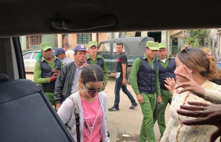 Cuban Police prevents Camerata Romeu from delivering aid to victims of the tornado