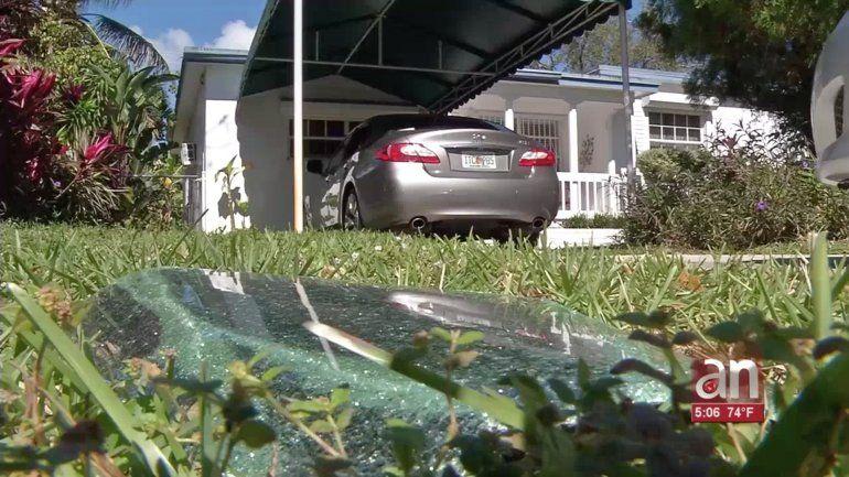 Vandalismo de vehículos en North Miami Beach