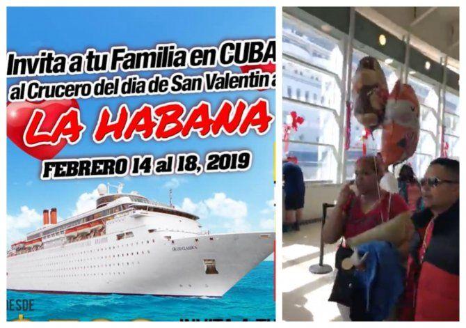 Cuba impide que un crucero desde Miami cargado de cubanos atraque en la Isla por llevar médicos desertores