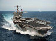 eeuu despliega portaaviones nuclear en medio de crisis en venezuela