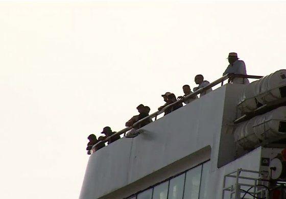 Exiliados cubanos en Miami reaccionan a la negación de entrada de crucero a La Habana