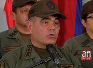 alto mando militar del regimen de maduro rechazo mensaje del presidente trump