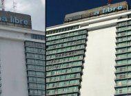 el emblematico cartel del hotel habana libre ha perdido varias letras en los ultimos dias