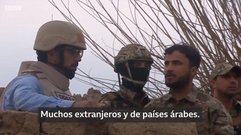 Estado Islámico en Siria: las imágenes exclusivas de la BBC del último reducto yihadista