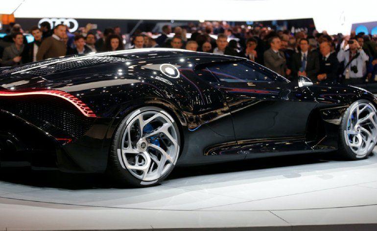 Bugatti presenta La Voiture Noire, el coche nuevo más caro de la historia