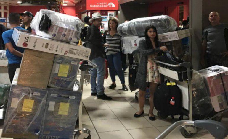 Las mulas cubanas cambian Panamá por Nicaragua