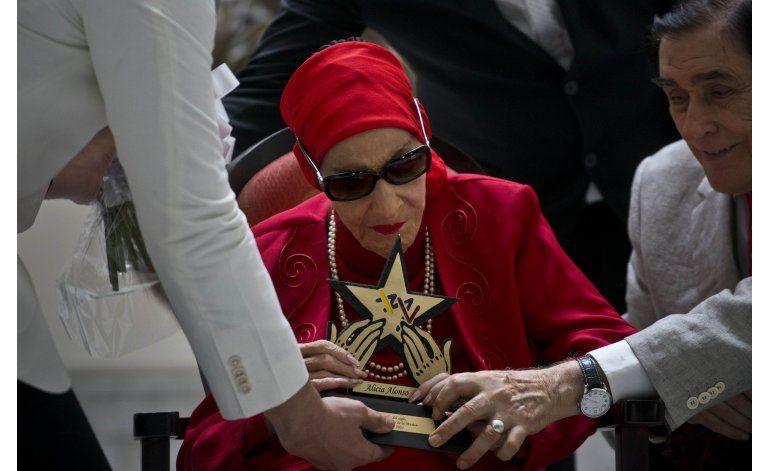 Falleció  la leyenda de la danza cubana, Alicia Alonso a sus 98 años