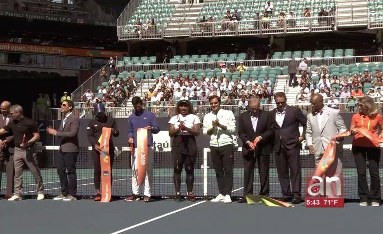 Inauguran oficialmente el Miami Open 2019