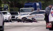 Conductor que venía huyendo de la policía atropella mortalmente a un motociclista