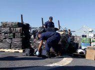 guardia costera de ee.uu incauto cocaina avaluada en 360 millones de dolares
