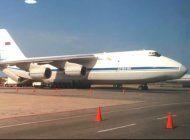 llegan a caracas dos aviones de la fuerza aerea rusa con personal militar