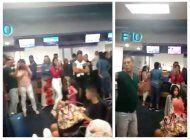 quedan varados cientos de cubanos en el aeropuerto de miami tras cancelacion de charter