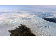 groenlandia: glaciar crece otra vez tras estar derritiendose