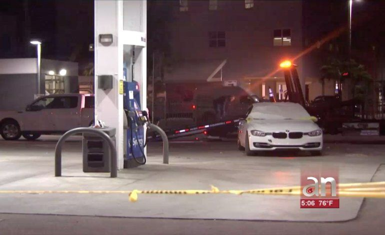 Un hombre y una mujer fueron mortalmente baleados en una gasolinera en el suroeste del condado