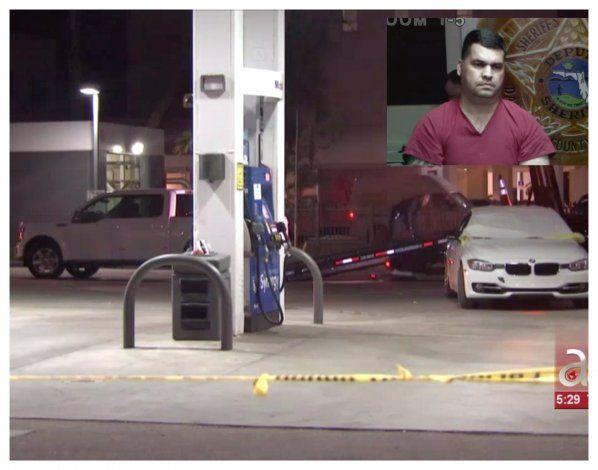 En corte hombre de Hialeah que asesino a su ex madrastra en una gasolinera