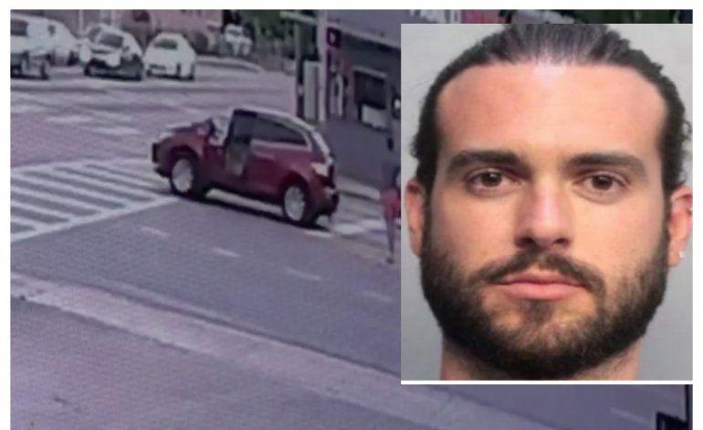 Sale a la luz las primeras imágenes del brutal golpe que le da el actor mexicano Pablo Layle a hombre de origen cubano causándole la muerte