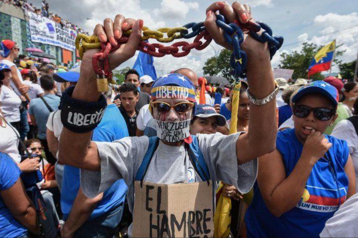 Venezolanos marcharan este sábado para protestar contra apagones