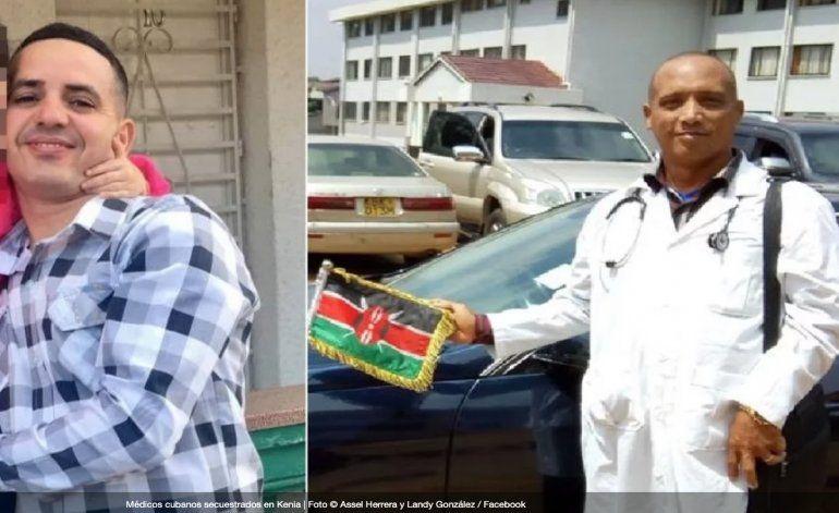 Nueve meses de secuestro de los dos médicos cubanos en Kenia