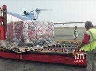 entra el primer lote de ayuda humanitaria en venezuela