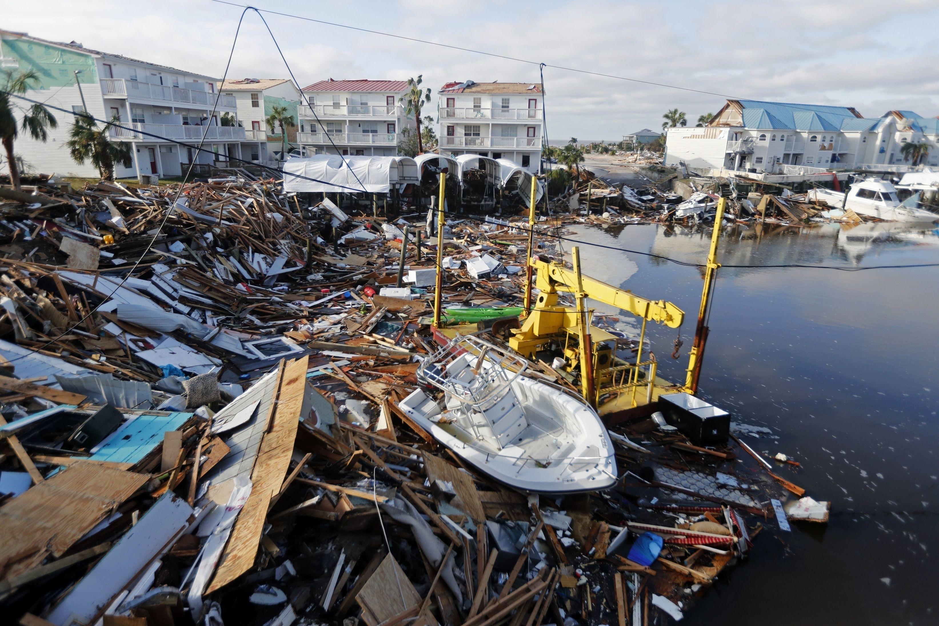 Huracán Michael es reclasificado como de categoría 5