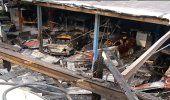 Voraz incendio destruye taller de autos en Miami dejando 2 vehículos calcinados